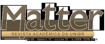 Matter Revista Acadêmica da UNIBR
